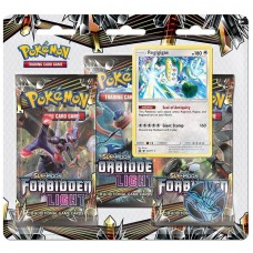 Pokemon TCG 3-pack blister promo Sun & Moon Forbidden Light