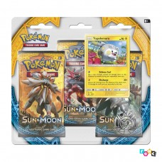Pokemon TCG 3-pack blister promo Sun & Moon