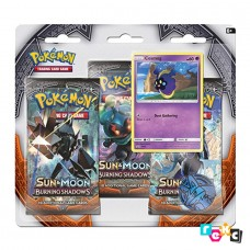 Pokemon TCG 3-pack blister promo Sun & Moon Burning Shadows