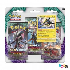 Pokemon TCG 3-pack blister promo Sun & Moon Guardians Rising