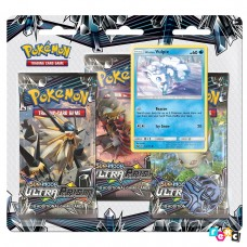 Pokemon TCG 3-pack blister promo Sun & Moon Ultra Prism