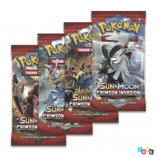 Pokémon TCG: Sun & Moon Crimson Invasion Бустер