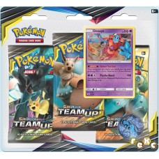 Pokemon TCG 3-pack blister promo Sun & Moon Team Up