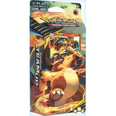 Pokémon TCG: Sun & Moon Team Up — Relentless Flame Theme Deck