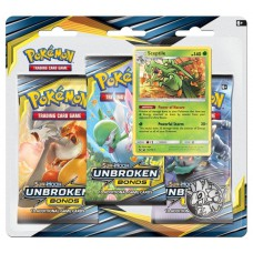 Pokemon TCG 3-pack blister promo Sun & Moon Unbroken Bonds