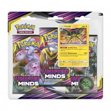 Pokemon TCG 3-pack blister promo Sun & Moon Unified Minds