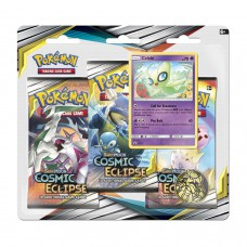 Pokemon TCG 3-pack blister promo Sun & Moon Cosmic Eclipce